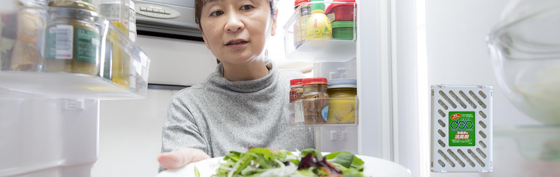 ムサシ化成,DEOTAB,デオタブ,冷蔵庫用消臭剤